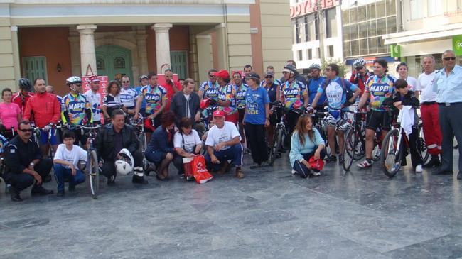 велосипедная поездка по Криту