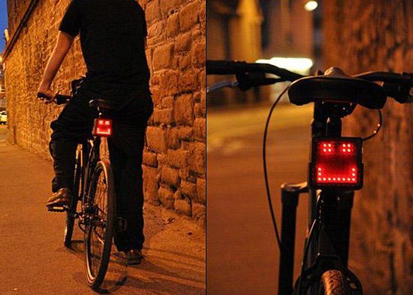 Велосипедный задний фонарь Bike light