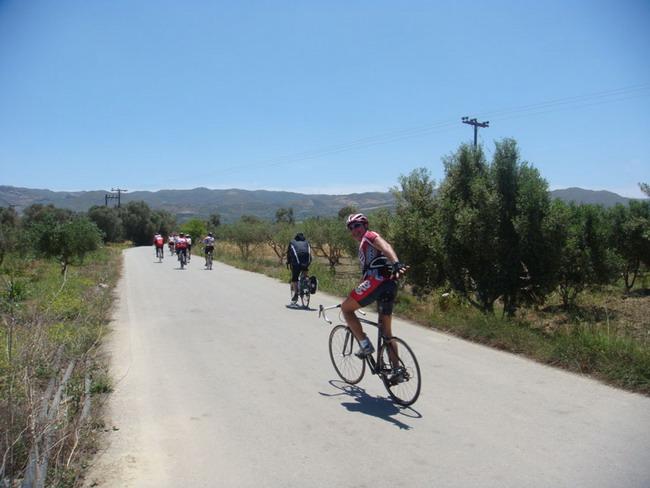 Велосипедные туры по острову Крит