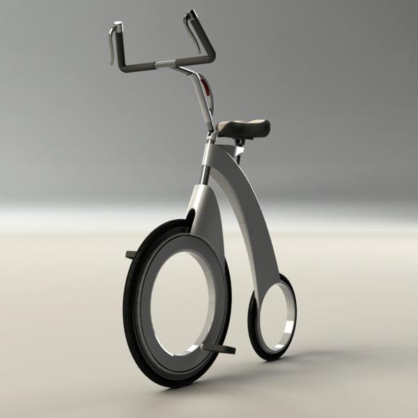 Концептуальный велосипед Diamove