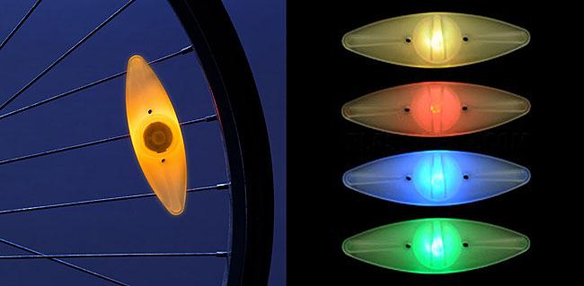 Модный велосипедный светоотражатель Bicycle Spoke LED Light