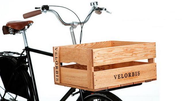Велосипедный багажник в виде ящика
