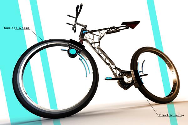 Велосипед Hubless от Сильвана Гербера
