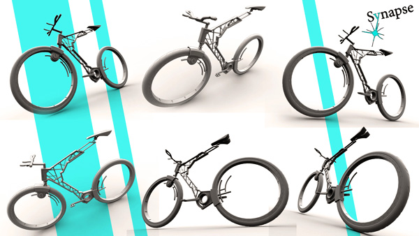 Велосипед Hubless
