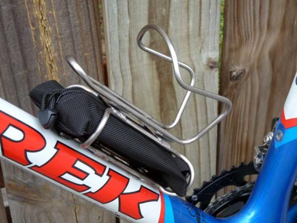 Велосипедный крепеж под сумочку
