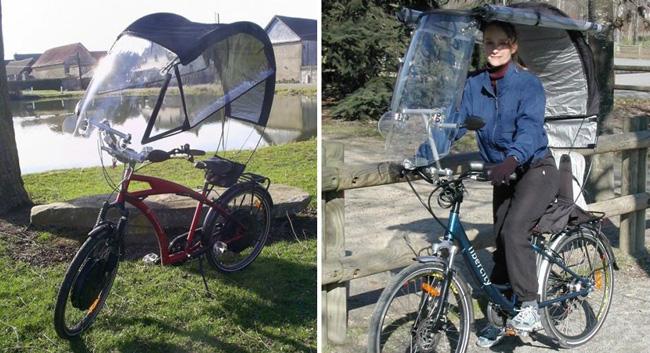 veltop защита велосипедиста от дождя