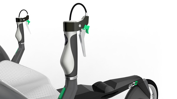 WISB велосипед для инвалидов