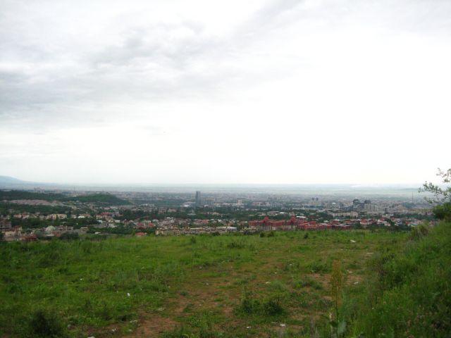 вид на Алматы