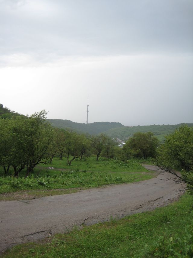 вид на посёлок Кольсай
