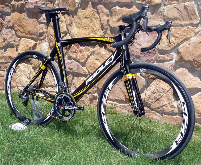 Велосипед ridley noah FB aero road bike
