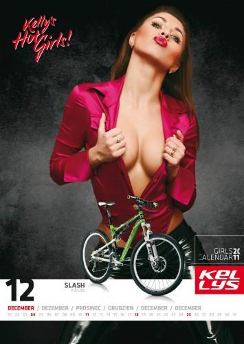 Велосипедный календарь – Kelly's 2011 декабрь