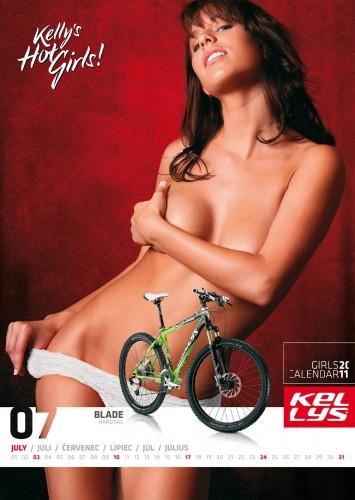 Велосипедный календарь – Kelly's 2011 июль