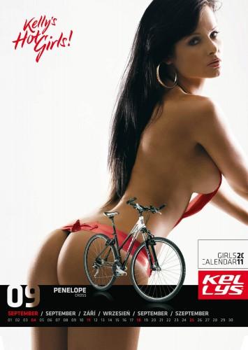 Велосипедный календарь – Kelly's 2011 сентябрь