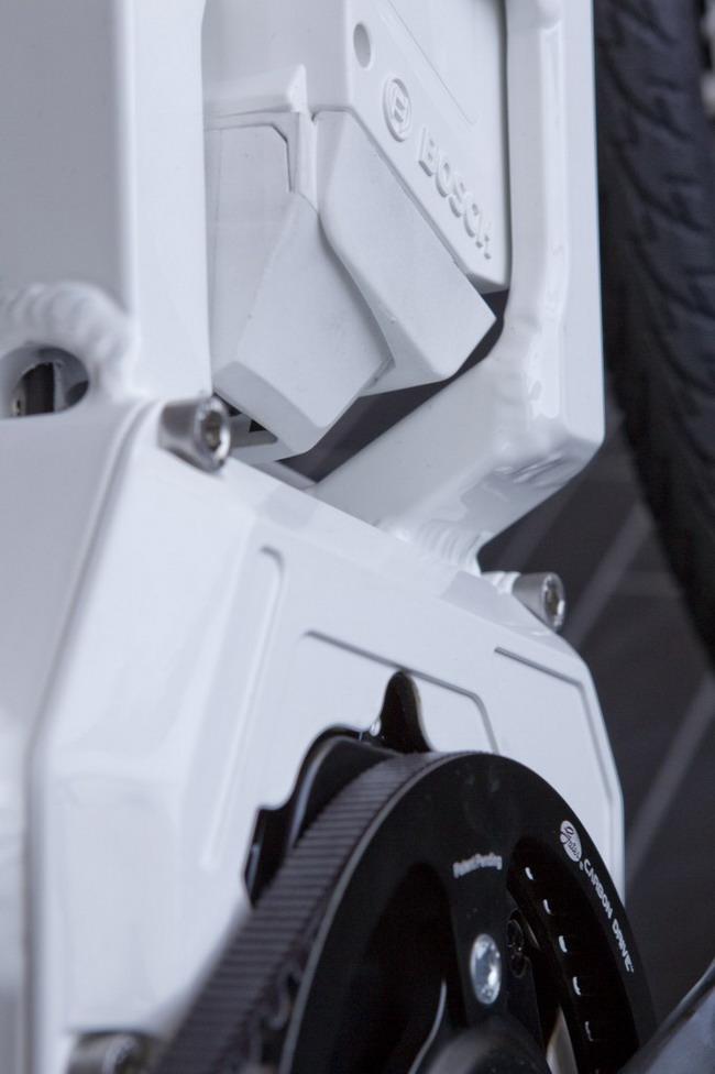 Электровелосипед от Bosch, NuVinci и Gates аккумулятор