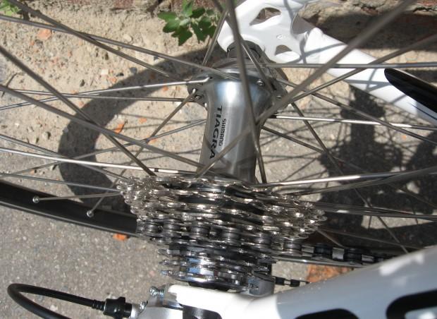 Велосипед Kelly's ARC 2.9 кассета вид сверху