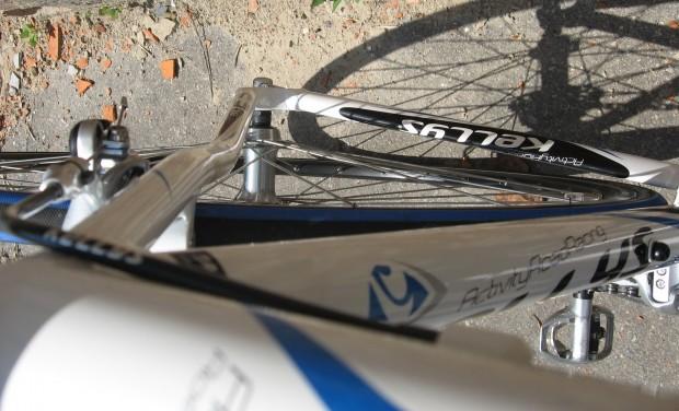 велосипед Kellys ARC 2.9 вид сверху сзади