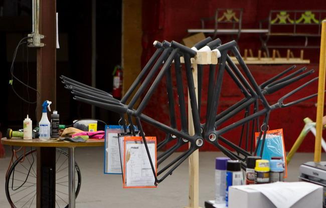 Так делают рамы велосипедов Parlee Cycles с телепатическим переключением передач