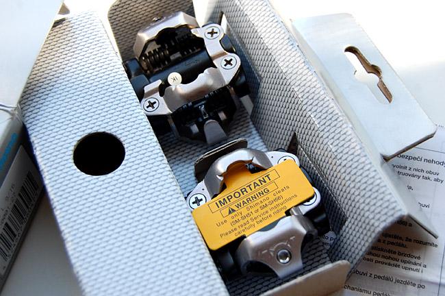 контактные педали – Shimano PD-M520