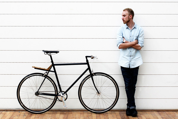 Городской велосипед дизайнера Дэвид Квика
