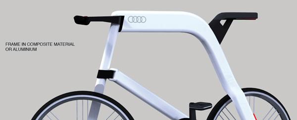 Новый электровелосипед Audi – audi bike