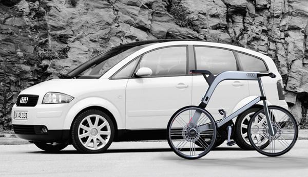 Концептуальный электровелосипед Audi
