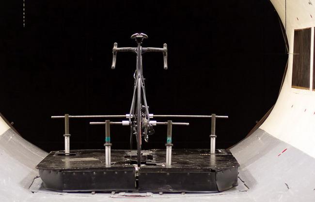 велосипед  Parlee Cycles аэродинамическая труба