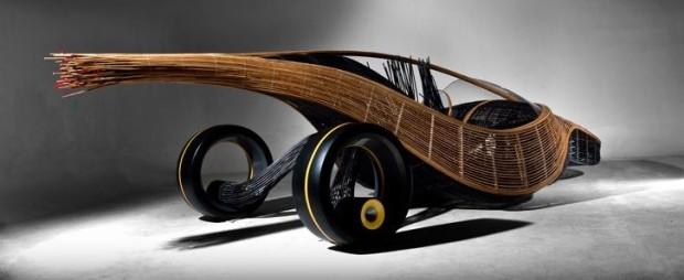 веломобиль из бамбука