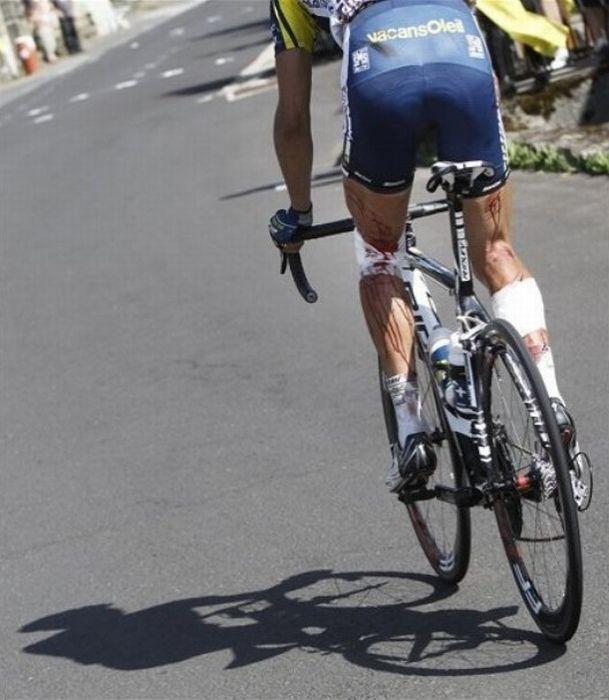 Авария на Тур де Франс