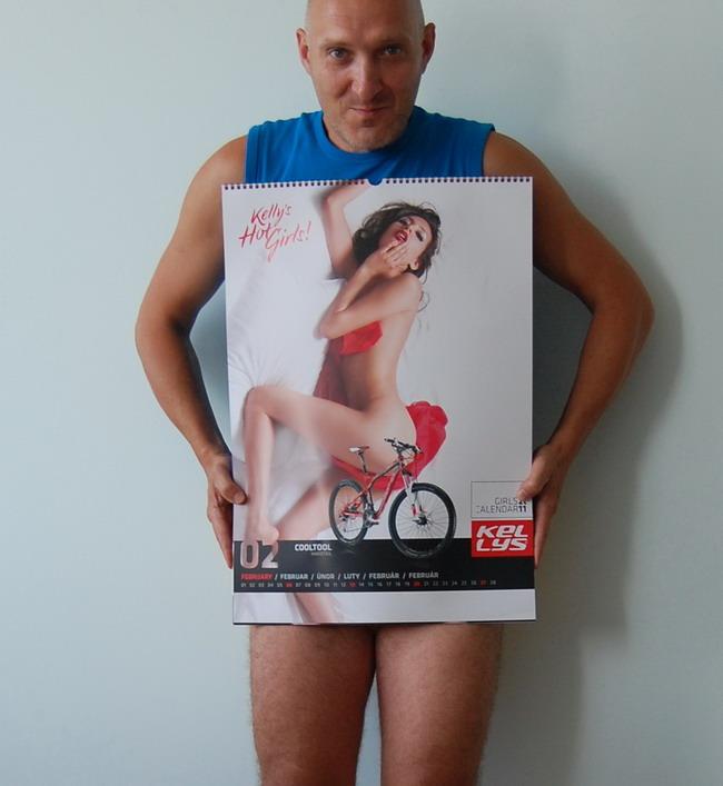 Велосипедный календарь – Kelly's 2011