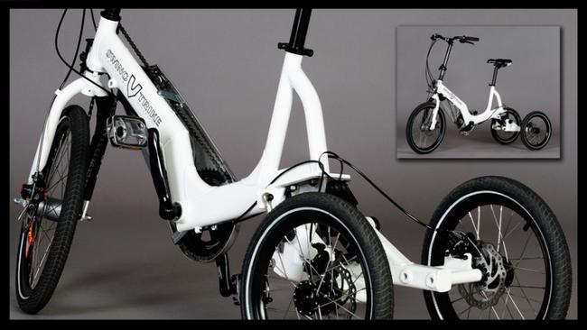 Трехколесный велосипед Swingtrike белый