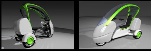 Трехколесный велосипед для взрослых Swingtrike дизайнерское решение