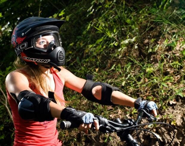Велосипедный шлем защита