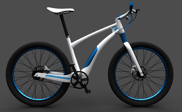 Электровелосипед Electric Bicycle by Vojtech Sojka