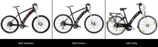 електровелосипед Emotion NEO 2011 виды велосипедов