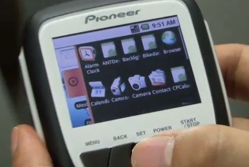 Pioneer bike android