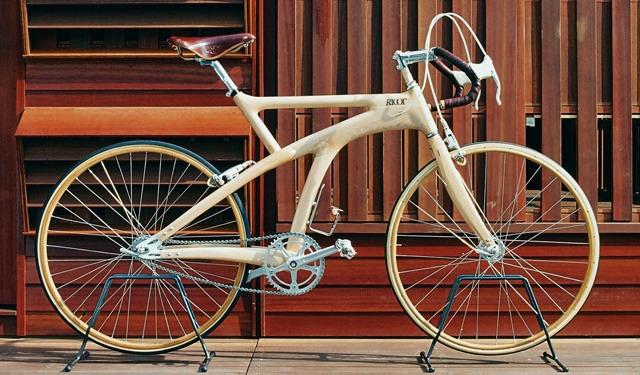 деревянный велосипед  Ricor