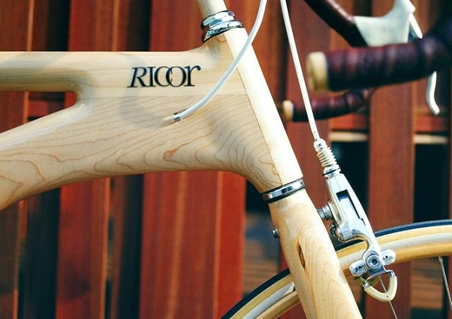 деревянный велосипед  Ricor  рулевая колонка