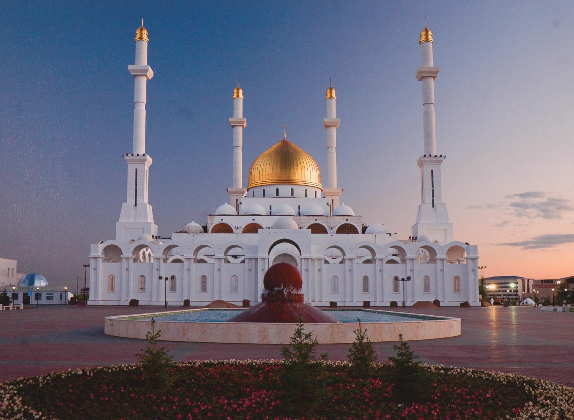 фото мечети астаны
