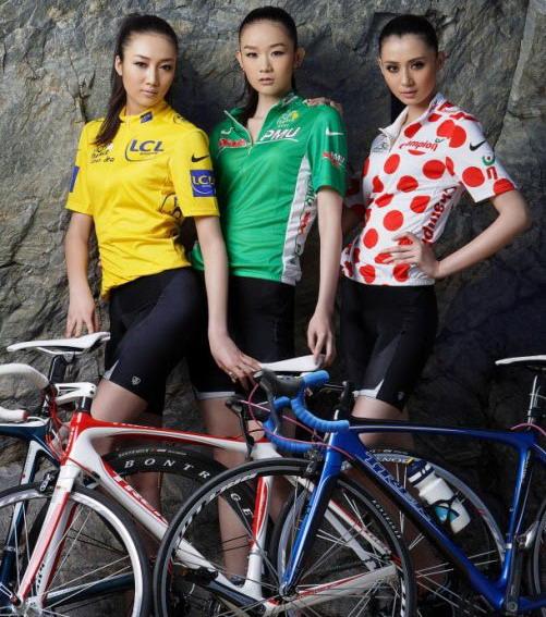 Велосипедные девушки