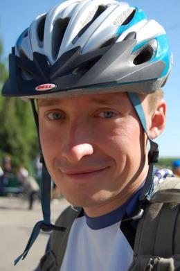 Винницкий велосипедист Виталий