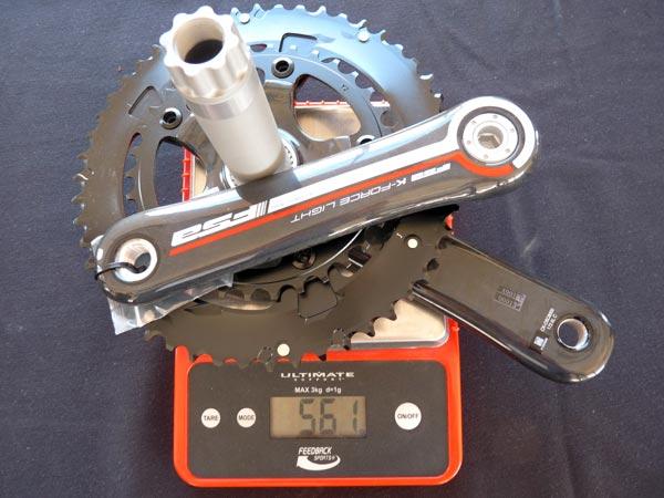 новая система FSA стандарта BB386EVO вес компонентов