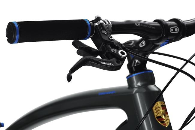 Велосипед Porsche руль