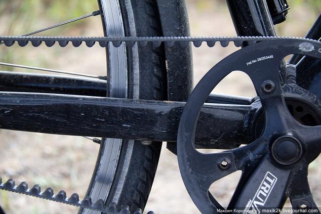 Велосипед Сары Оутен