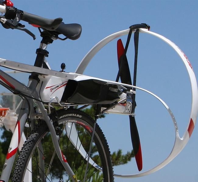 Електровелосипед АeroBicle от компании Grandee