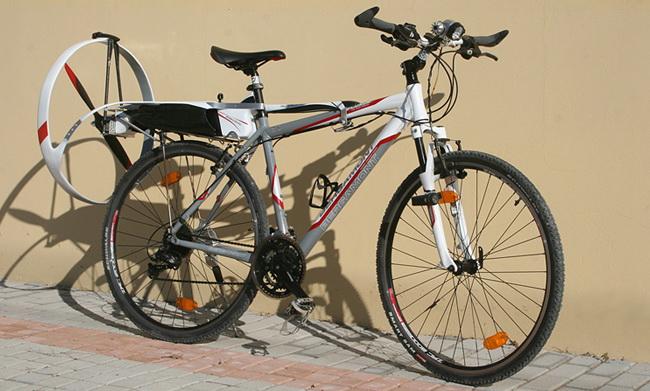 Електровелосипед АeroBicle от компании Grandee или электровелосипед с пропеллером
