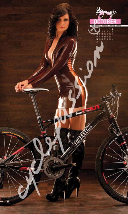 Ежегодный велосипедный календарь Cyclepassion 2011