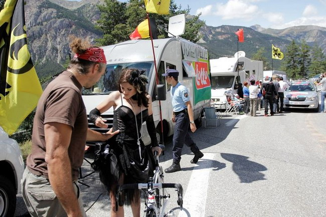 Как снимали велосипедный календарь Cyclepassion 2012 в полях возле Мюнхена