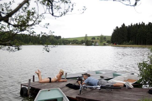 Как снимали велосипедный календарь Cyclepassion 2012 на берегу Рейна