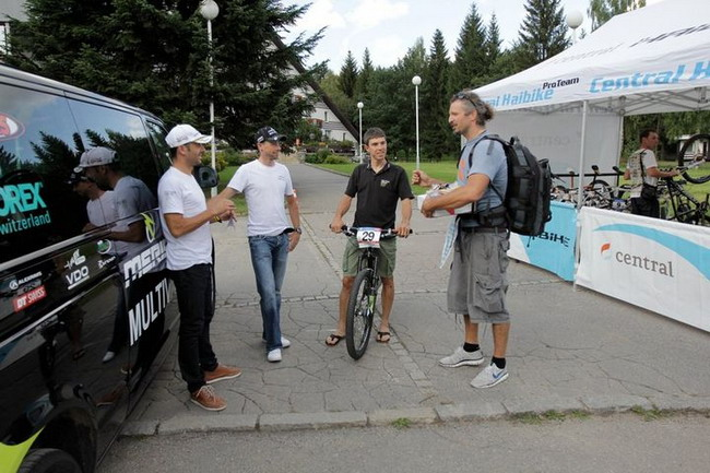 На съемке велосипедного календаря Cyclepassion 2012