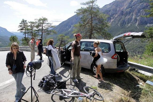 Как снимали велосипедный календарь Cyclepassion 2012